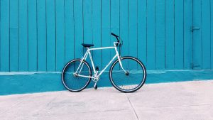 fiets van kind met gescheiden ouders